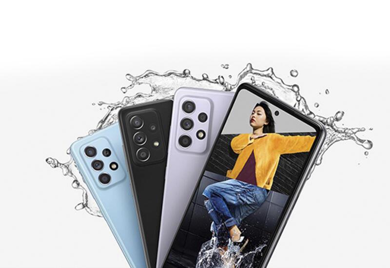 Samsung представляет смартфоны Galaxy A52 и A72 - современные технологии по доступной цене