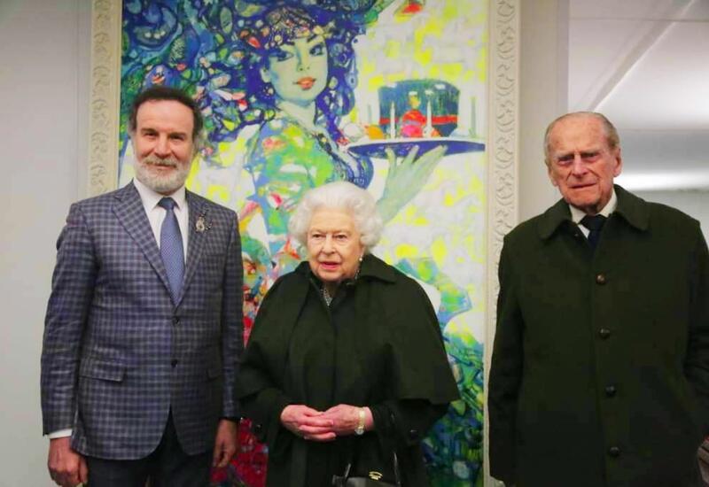 В Нидерландах выпущены марки с картинами Сакита Мамедова – подарок Елизаветой II