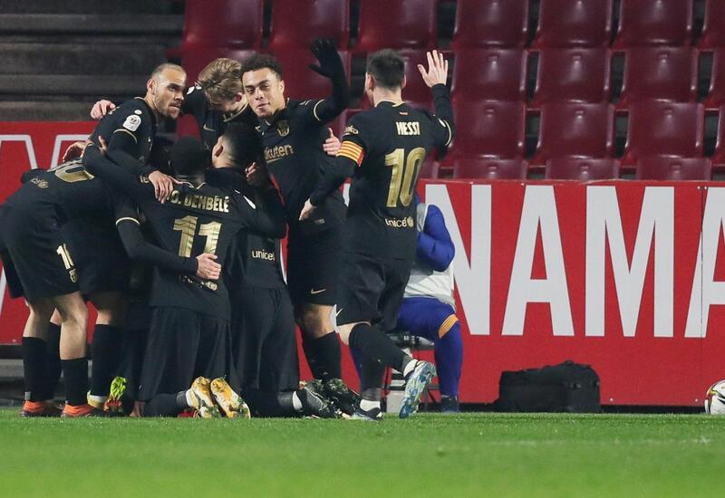 «Барселона» разгромила «Реал Сосьедад» в матче Ла Лиги
