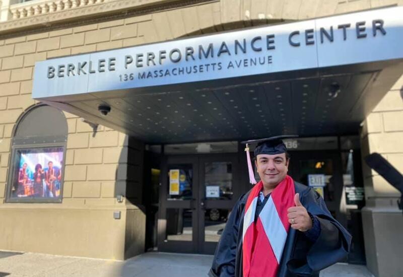 Азербайджанский джазовый пианист завершил образование в Berklee College of Music