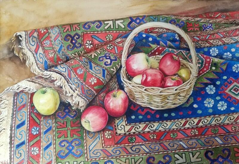 Работы азербайджанских художников на онлайн-выставке