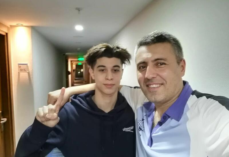 Азербайджанский пловец завоевал олимпийскую лицензию
