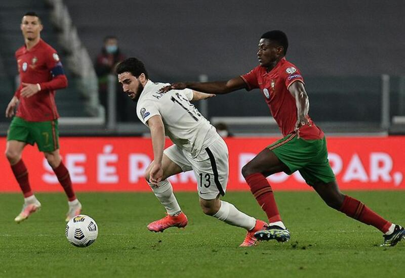 Криштиану Роналду установил рекорд в матче со сборной Азербайджана