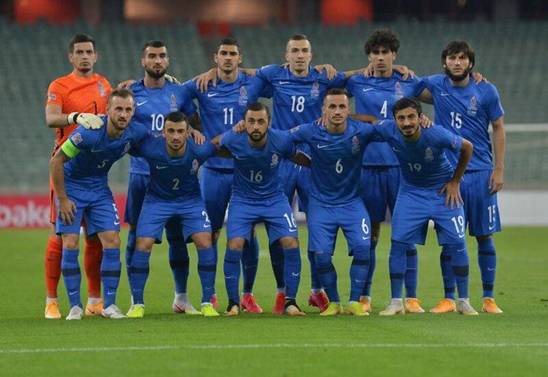 Азербайджан сыграл с Португалией