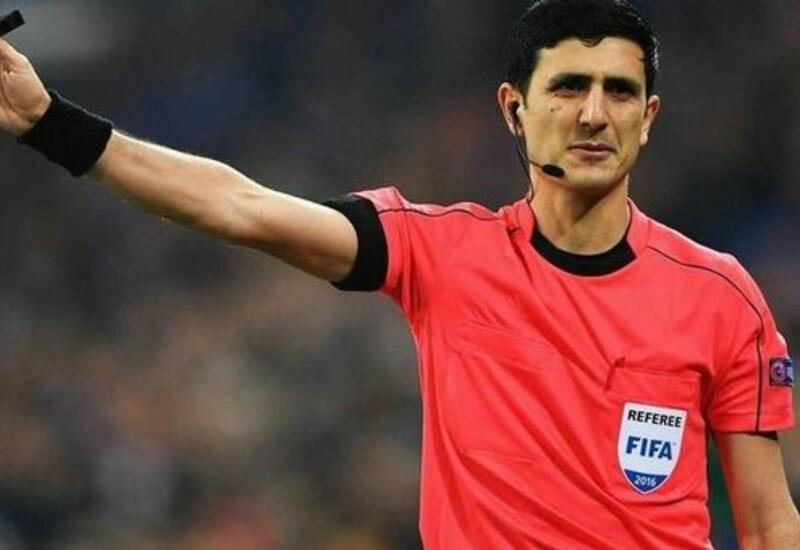 Азербайджанский рефери будет судить матч Дания - Молдова