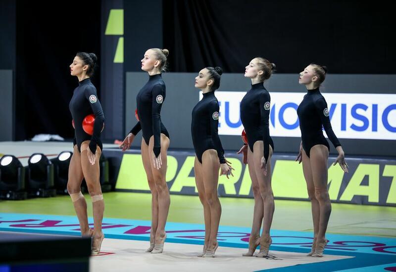 Команда Азербайджана прошла финал Кубка мира по художественной гимнастике в Софии