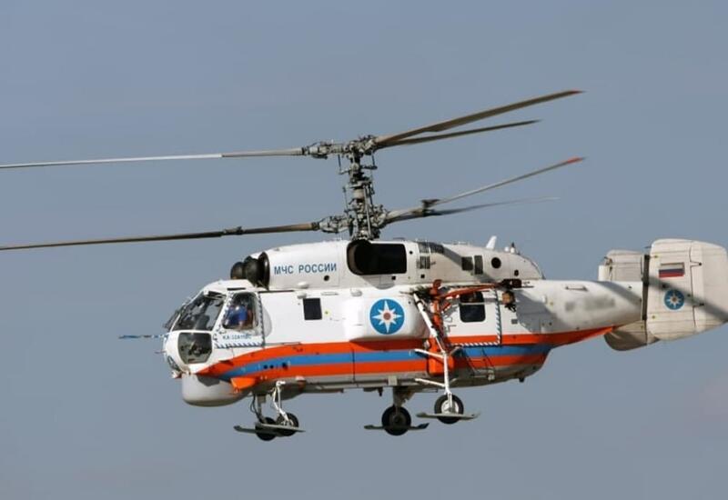 В России рухнул вертолет