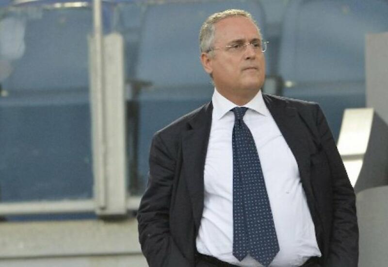 Федерация футбола Италии отстранила президента клуба «Лацио»