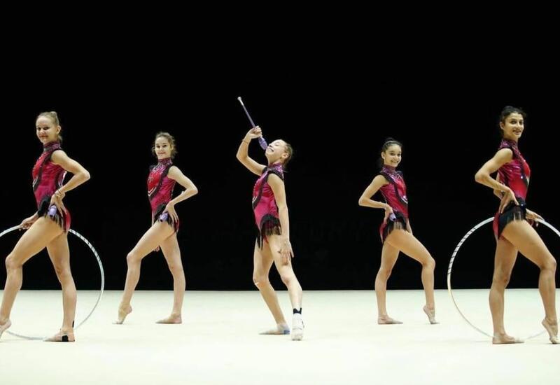 Азербайджан занял второе место в многоборье на Кубке мира по художественной гимнастике