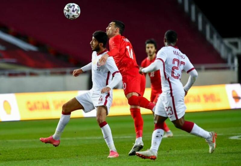 Сборная Азербайджана проиграла Катару