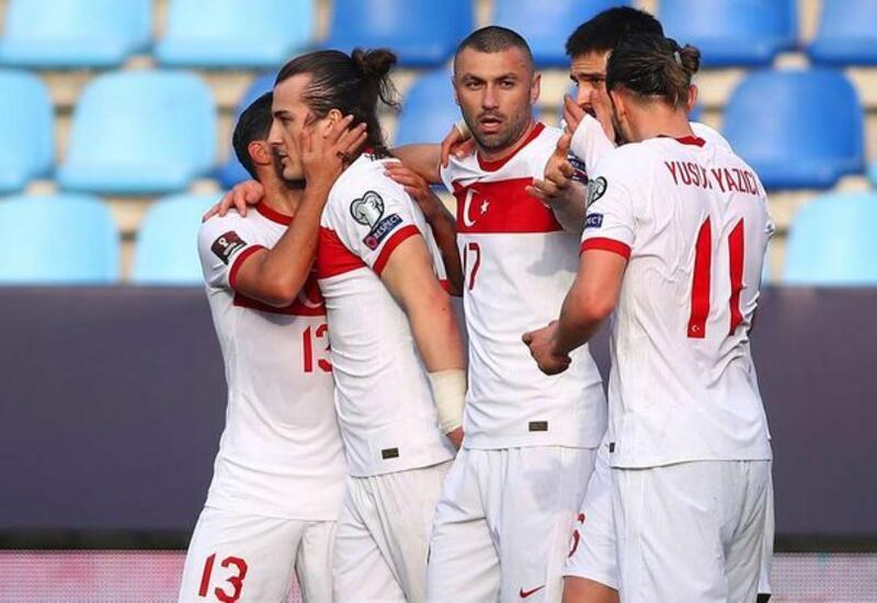 Сборная Турции одержала вторую победу в отборе ЧМ-2022