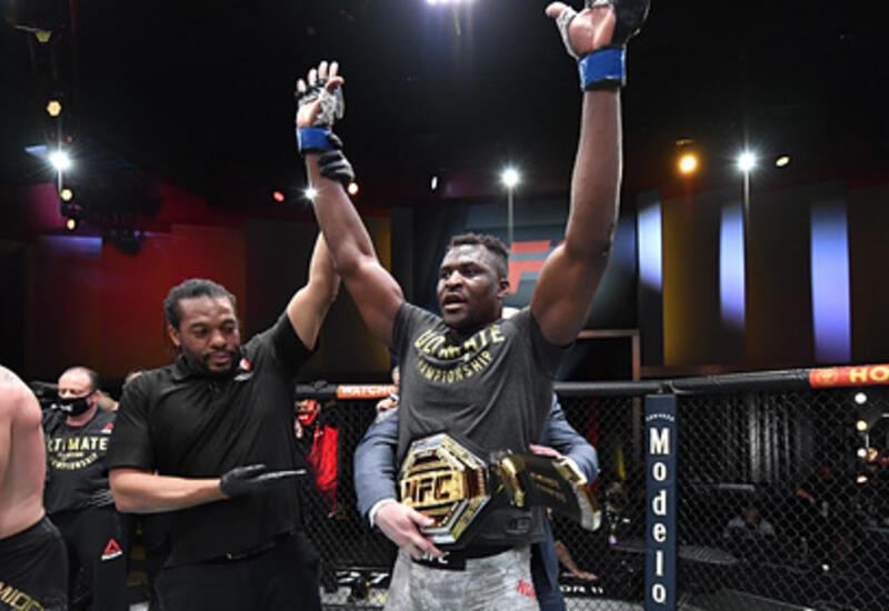 В UFC появился новый чемпион-тяжеловес