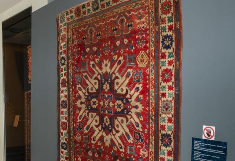 Уникальный ковер в коллекции азербайджанского музея