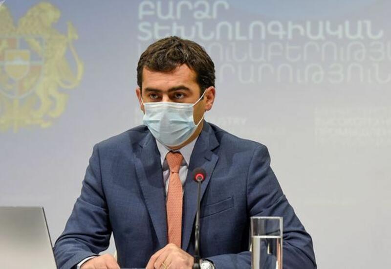 В Армении министр подал в отставку