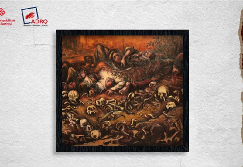 Онлайн-выставка посвященная геноциду азербайджанцев в 1918 году