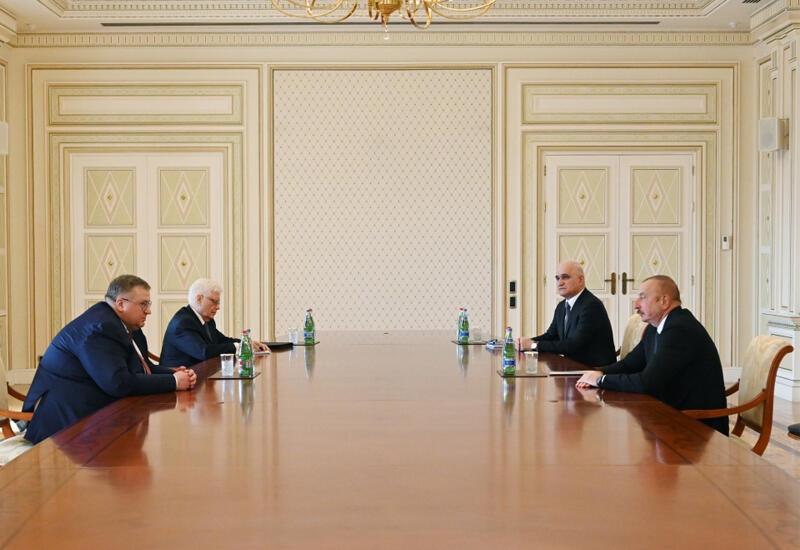 Президент Ильхам Алиев принял заместителя председателя Правительства России