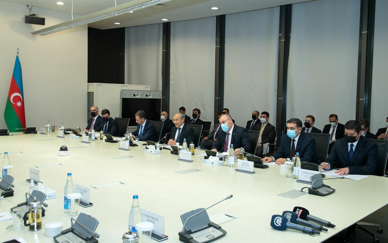 В Минэкономики прошла встреча с делегацией во главе с министром торговли Турции
