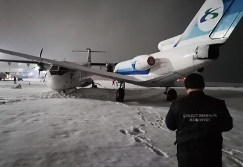 В российском аэропорту столкнулись два самолета