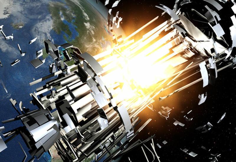 Российский военный спутник взорвался над Тихим океаном