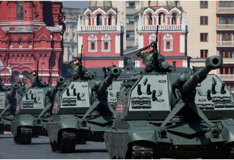 Пять видов танков пройдут по Красной площади в Москве 9 мая