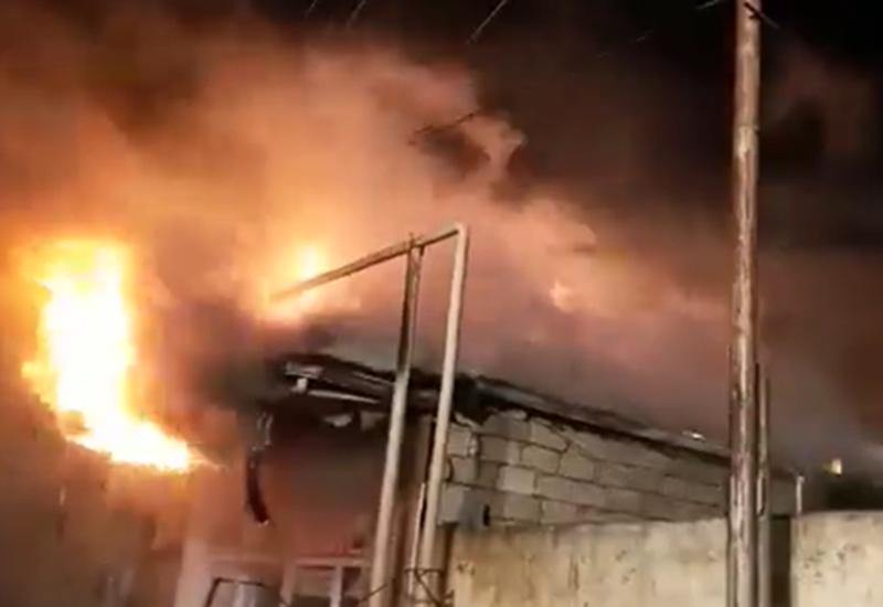 В Самухе прогремел сильный взрыв