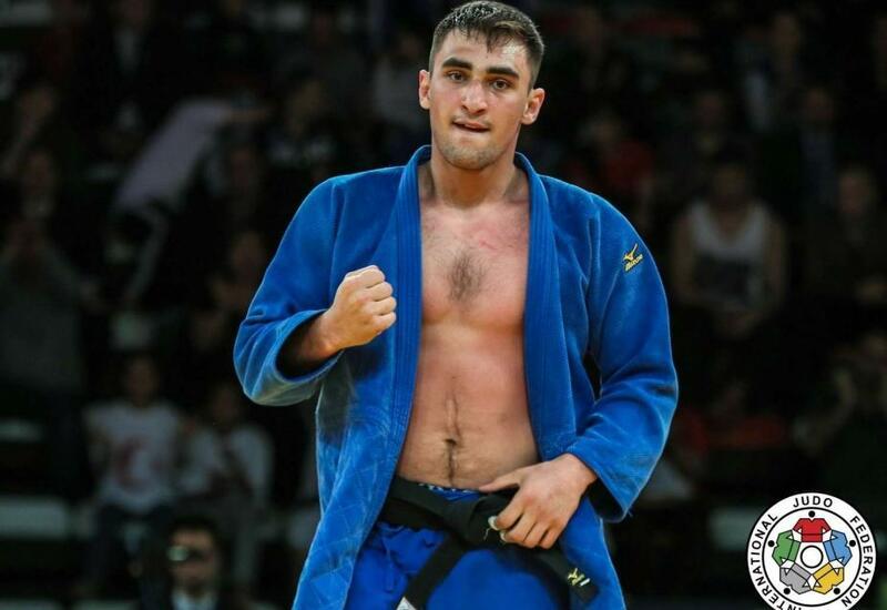 Азербайджанский дзюдоист выиграл золотую медаль на турнире «Большого шлема»
