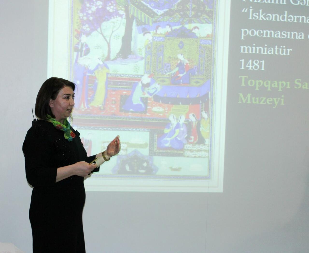 В Баку рассказали об искусстве и мастерах в творчестве Низами Гянджеви