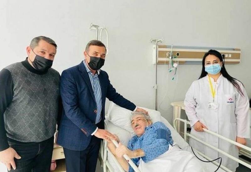 Мансум Ибрагимов навестил Рямиша в больнице