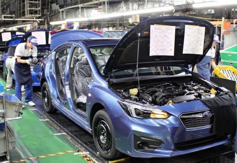 Subaru остановит производство на заводе в Японии