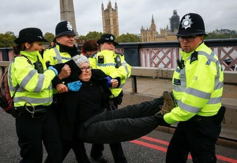 В Лондоне задержали 107 активистов, протестовавших против расширения полномочий полиции