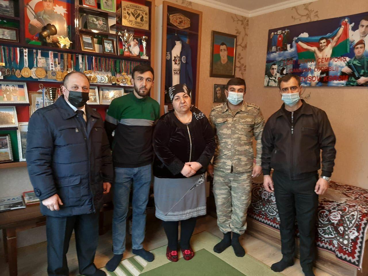В Хачмазе оказана помощь 45 семьям шехидов
