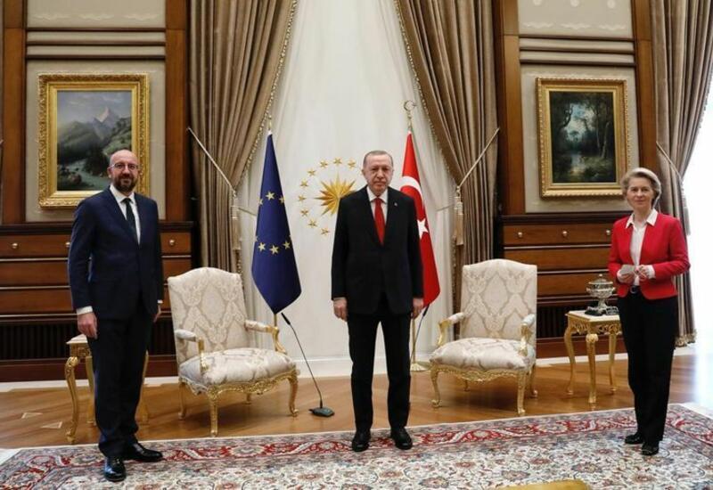 Руководство ЕС встретилось с Эрдоганом