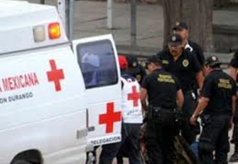 Столкновение двух автобусов в Мексике