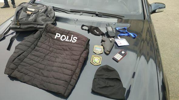 Задержан лжеполицейский с фальшивыми погонами и игрушечным пистолетом