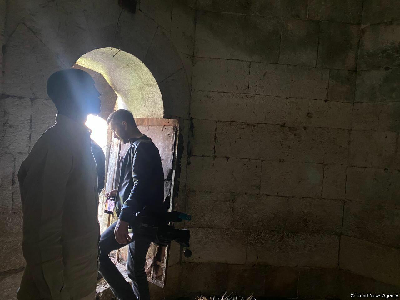 Представители ОИС посетили кладбище Имарет в Агдаме
