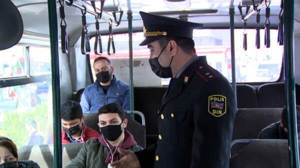 В Баку полиция усилила контроль за соблюдением карантинного режима