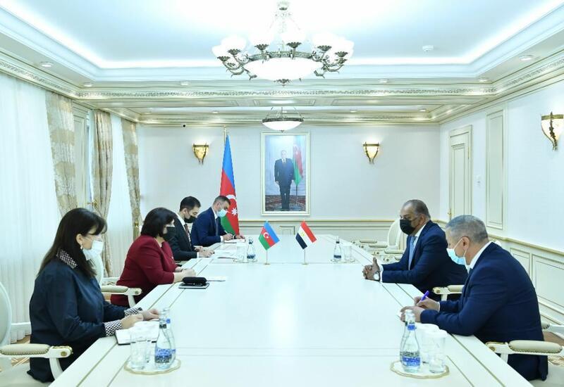 Обсуждены перспективы развития отношений между Азербайджаном и Египтом