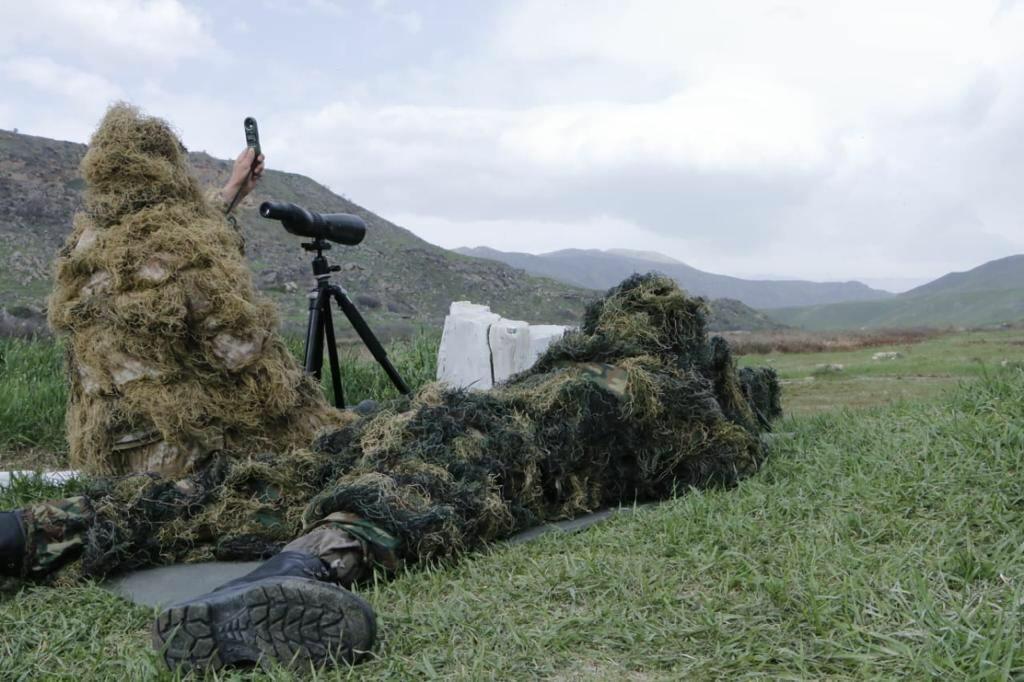 На границе с Арменией открылась новая воинская часть