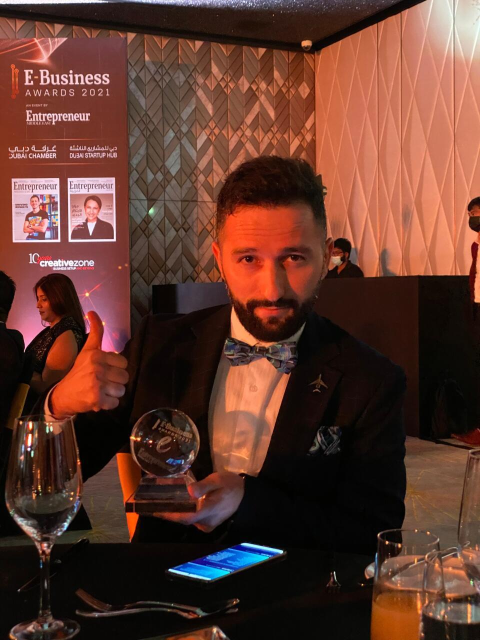 Азербайджанский стартап признан компанией года в сфере туризма в регионе MENA