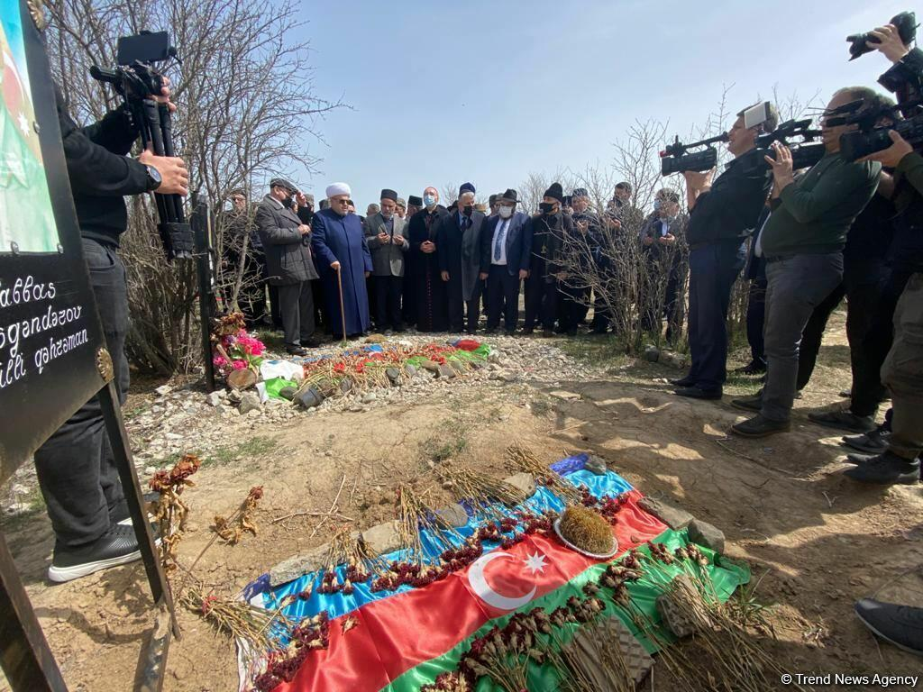 Главы религиозных конфессий Азербайджана посетили в Агдаме могилы шехидов