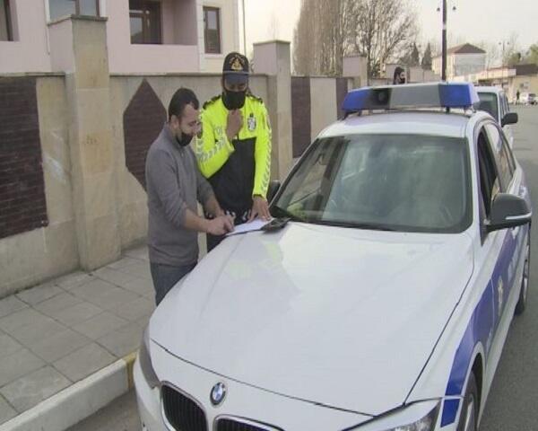 Рейд против нарушителей карантина в Лянкяране