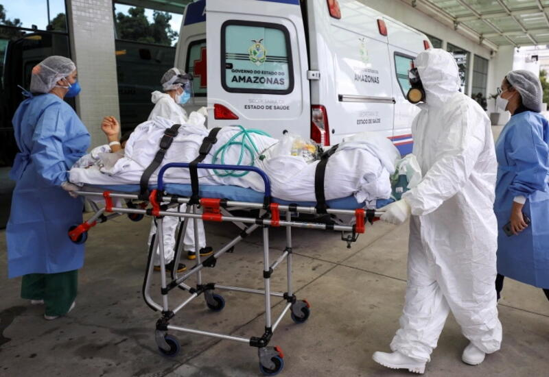 В Бразилии нашли штамм коронавируса с 18 мутациями