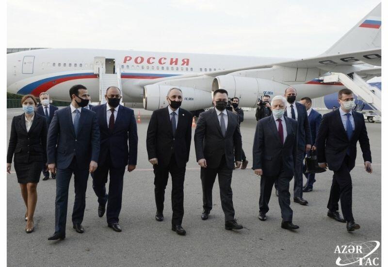 Генпрокурор России прибыл с официальным визитом в Баку