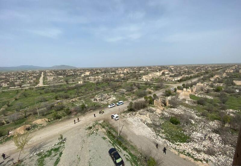 В Агдаме разрушены все населенные пункты и мечети