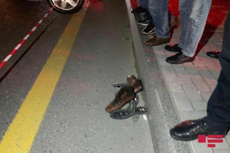 В Баку сбит насмерть пешеход