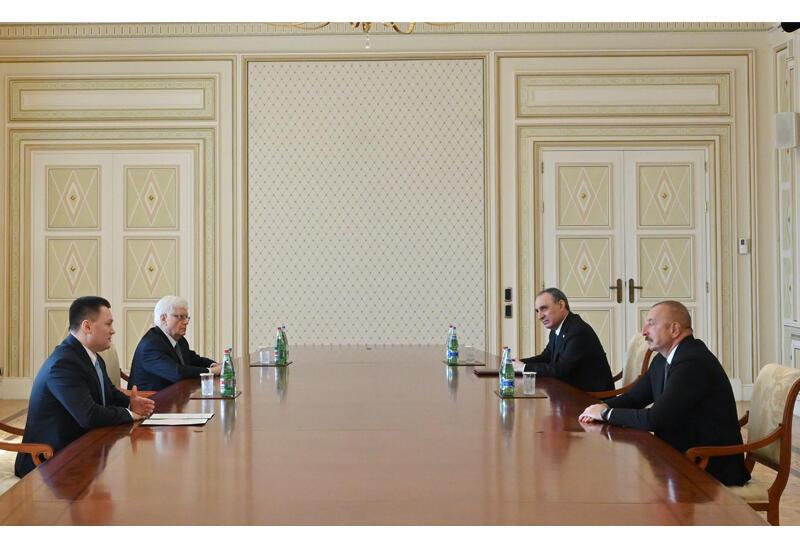Президент Ильхам Алиев принял генерального прокурора Российской Федерации
