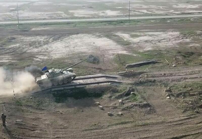 Танковые подразделения выполнили боевые стрельбы