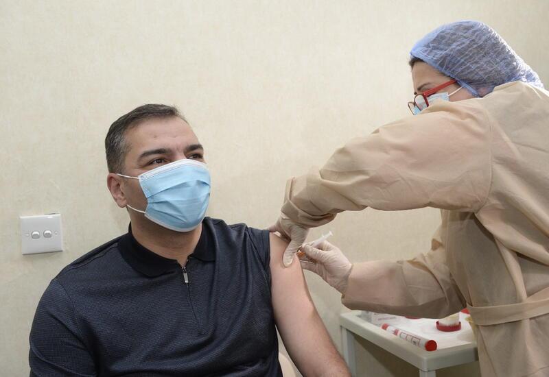 Коллектив Госагентства по туризму прошел вакцинацию от COVID-19
