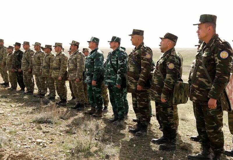 В войсках Нахчыванского гарнизона прошли очередные занятия по командирской подготовке