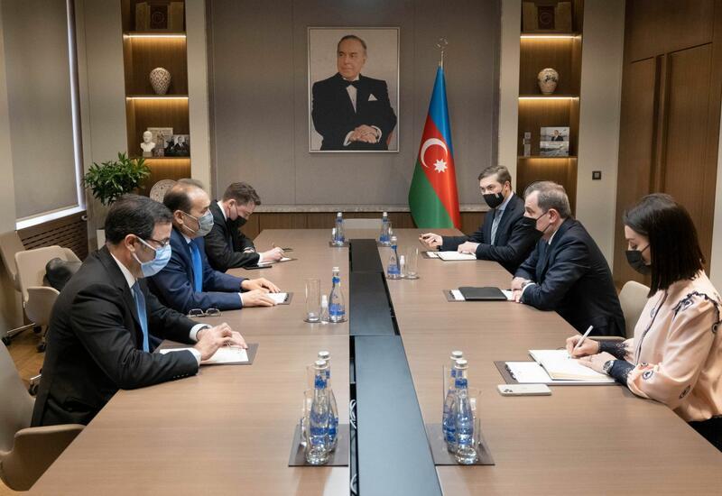 Джейхун Байрамов встретился с генсеком Тюркского совета